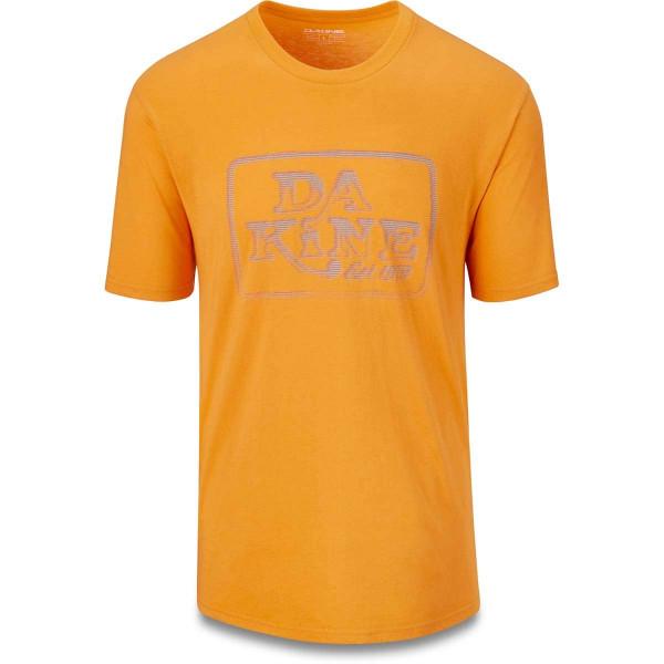 Dakine Classic Ascii Herren T-Shirt Golden Glow