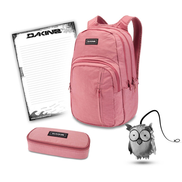 Dakine Campus Premium 28L + School Case + Emma + Block Schulset Faded Grape