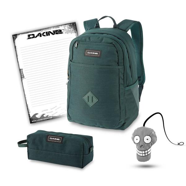 Dakine Essentials Pack 26L + Accessory Case + Harry + Block Schulset Juniper