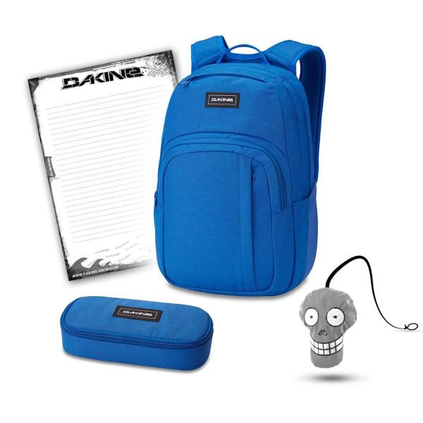 Dakine Campus M 25L + School Case + Harry + Block Schulset Cobalt Blue