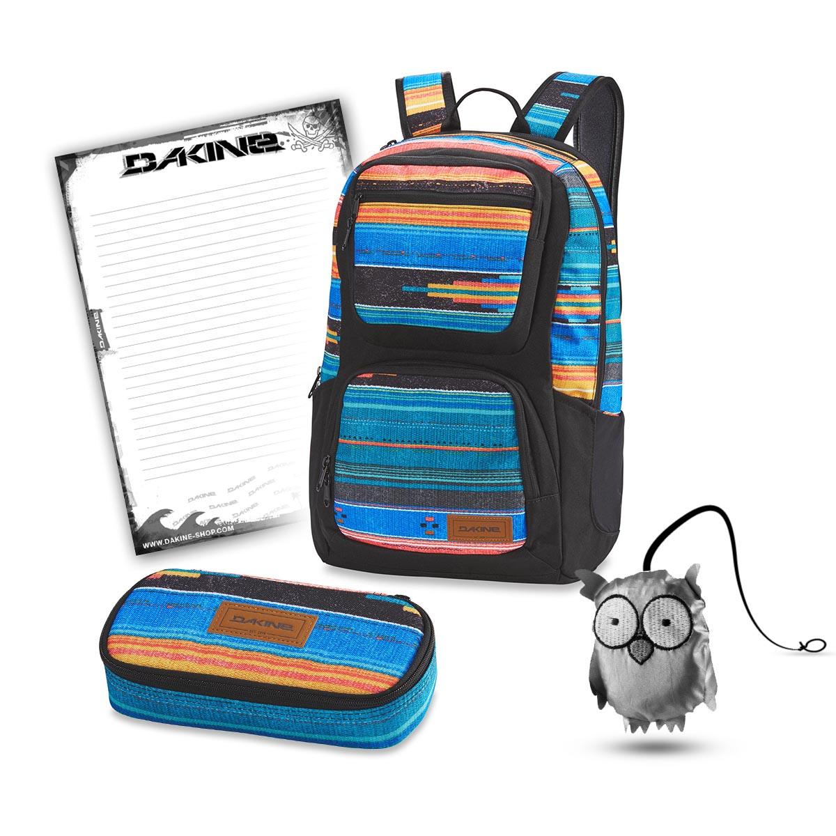 ceabb4c653576 Dakine Jewel 26L + School Case XL + Emma + Block Schulset Baja Sunset