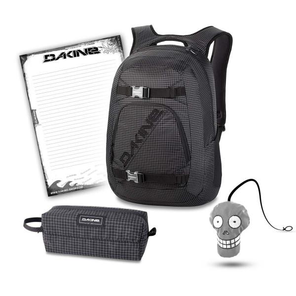 Dakine Explorer 26L + Accessory Case + Harry + Block Schulset Rincon