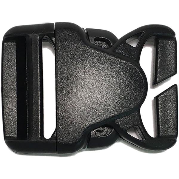 Dakine Replace Split Roller Buckle 38mm Split Bar (Set) Black