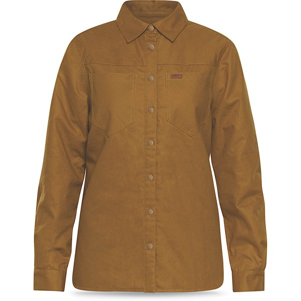 Dakine Womens Westridge Flannel Jacket Funktionsshirt Skiunterwäsche Buckskin