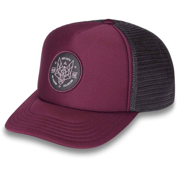 Dakine Womens Wolf Trucker Cap Plum Shadow