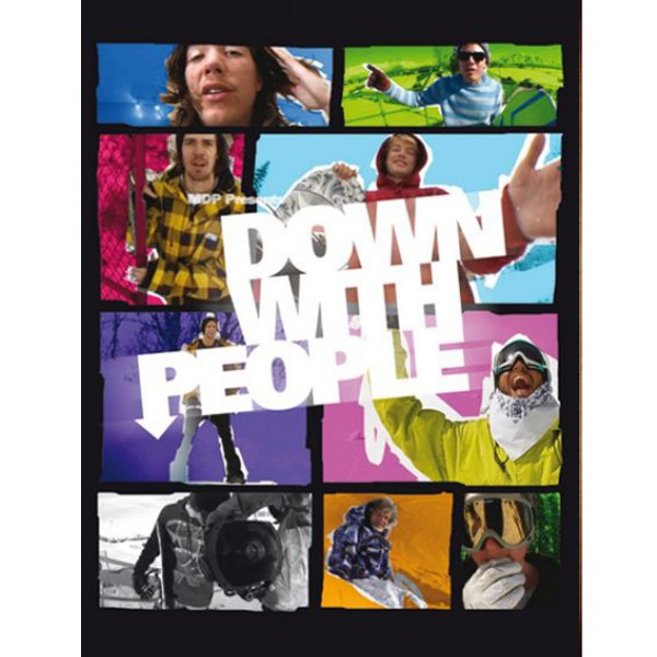 DOWN WITH PEOPLE DVD Snowboard Video