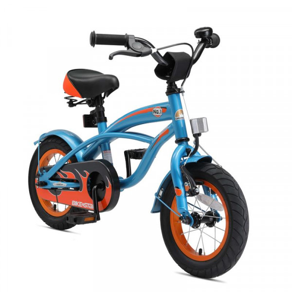 BIKESTAR Kinder Fahrrad Cruiser Blau ab 3 Jahre - 12 Zoll