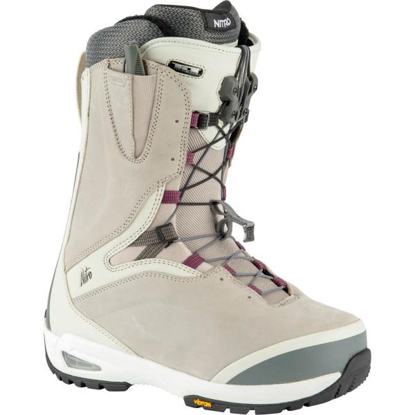 Nitro Bianca Tls Boot 21 Snowboard Boots Bone