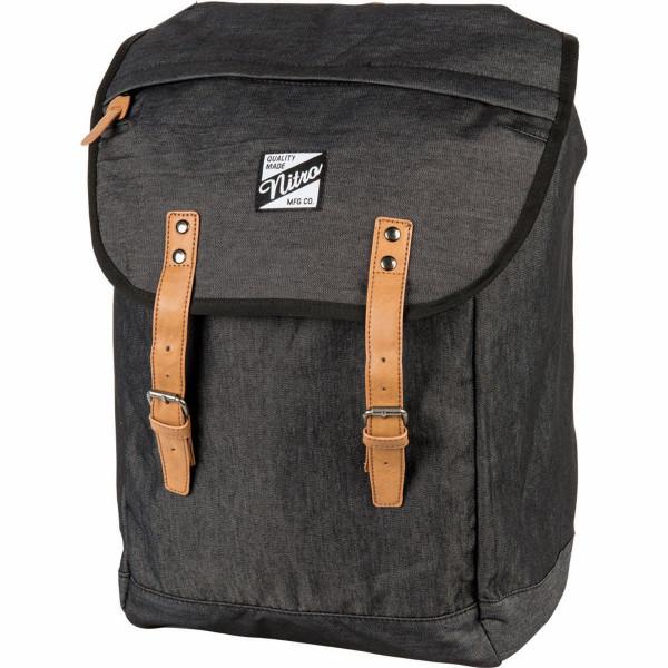 Nitro Venice 28L Rucksack mit Laptopfach Black Denim