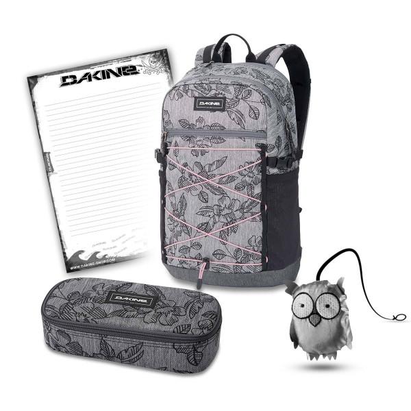 Dakine WNDR Pack 25L + School Case XL + Emma + Block Schulset Azalea