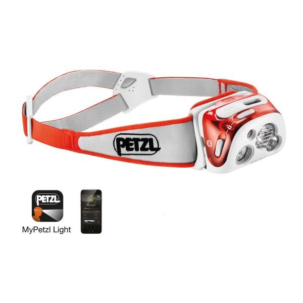 Petzl Reactik+ Performance Stirnlampe Korallenrot