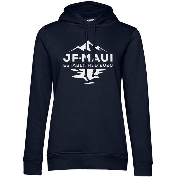 JF Maui Organic Hoodie Kapuzen Pullover Unisex Navy Blue