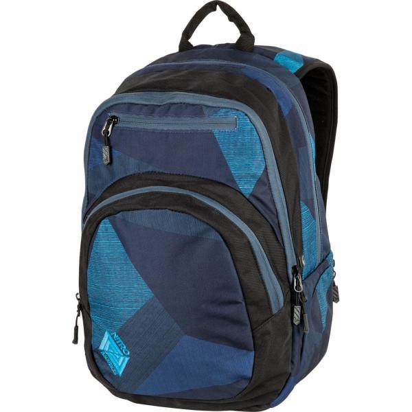 Nitro Stash 29L Rucksack mit Laptopfach Fragments Blue