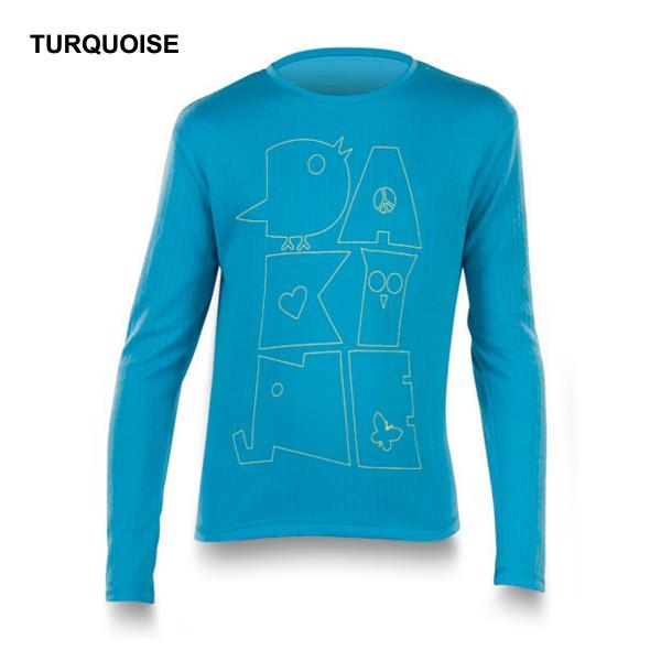 Dakine Girls Jumble Crew Funktionsshirt Turquoise
