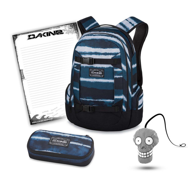 Dakine Mission 25L + School Case + Harry + Block Schulset Resin Stripe