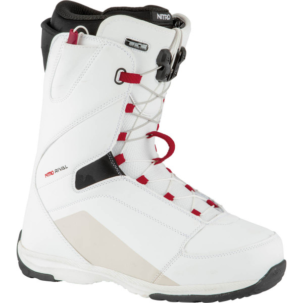 Nitro Rival Tls Boot 21 Snowboard Boots White-Black-Red