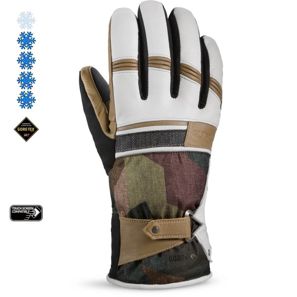 Dakine Targa Glove Ski-/Snowboard Handschuhe Patchwork Camo