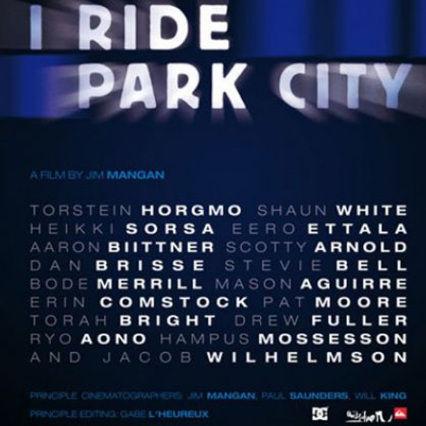 I RIDE PARK CITY DVD Snowboard Video