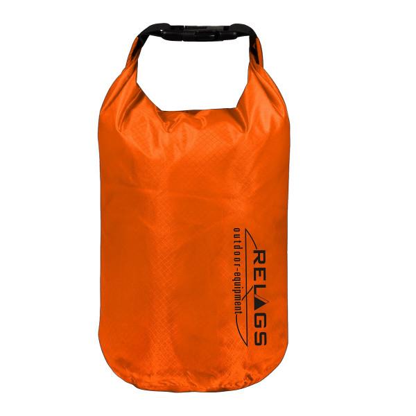 BasicNature Wasserdichter Packsack '210T' 5L Orange