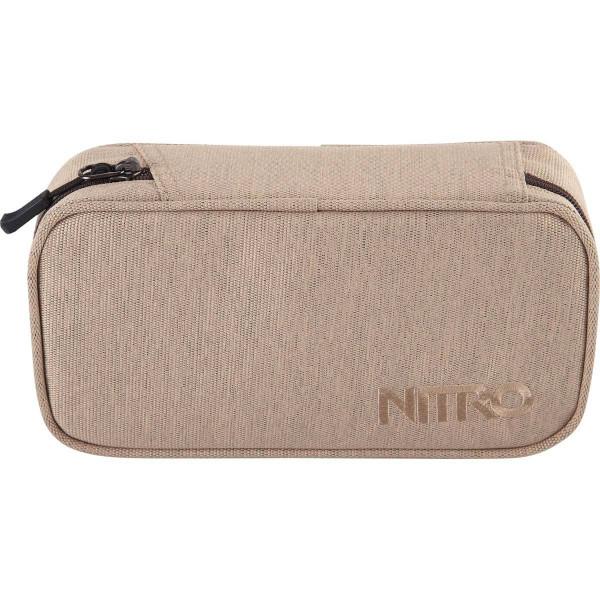 Nitro Pencil Case XL Federmäppchen Almond
