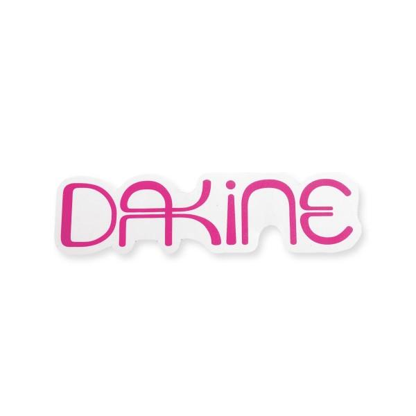 Dakine Lulu Medium Aufkleber Pink (17 x 5 cm)