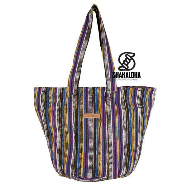 Shakaloha Heach Bag Vertical Stripes