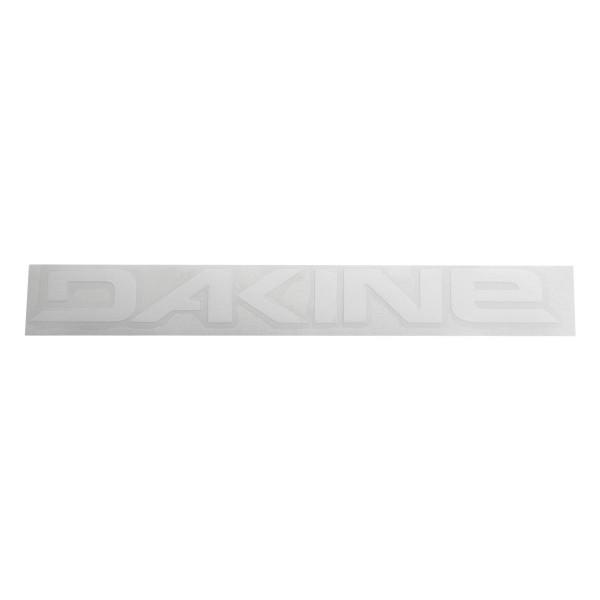 Dakine Rail Logo 12'' Plotted Aufkleber White (31.5 x 3.5 cm)