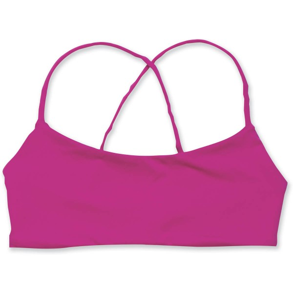 Dakine Basha Cami Top überkreuzte Träger Bikini Top Cherry Berry