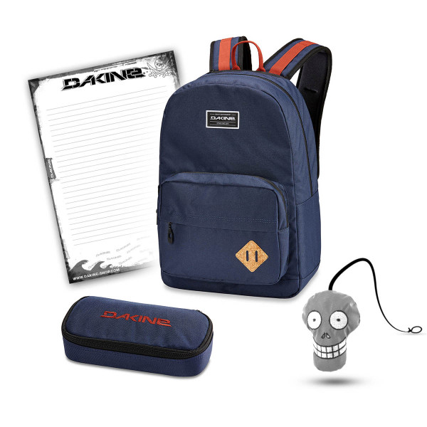 Dakine 365 Pack 30L + School Case + Harry Block Schulset Dark Navy