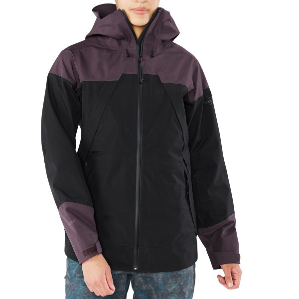 Dakine Beretta Jacket Damen Ski- / Snowboard Jacke Black / Amethyst