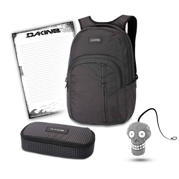 Dakine Campus Premium 28L + School Case XL + Harry + Block Schulset Rincon