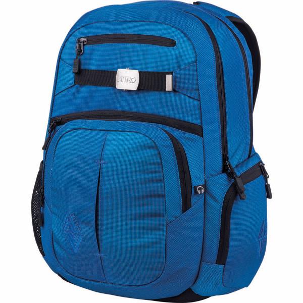 Nitro Hero 37L Rucksack mit Laptopfach Blur Brilliant Blue