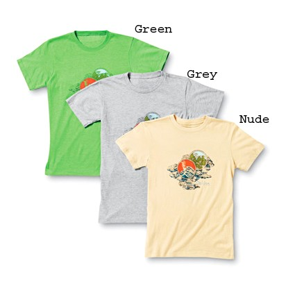 Dakine Waves T-Shirt Green