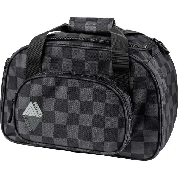 Nitro Duffle Bag Xs 35L Sporttasche Black Checker
