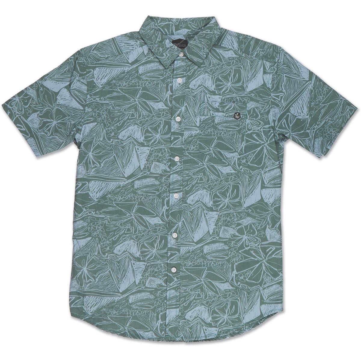 Dakine Kai kurzärmliges Hawaii Hemd Olive