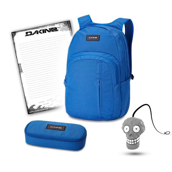 Dakine Campus Premium 28L + School Case + Harry + Block Schulset Cobalt Blue