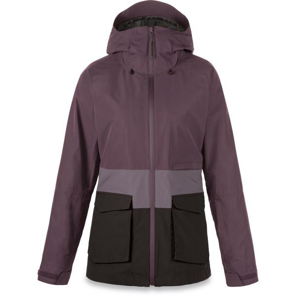 Dakine Remington Pure 2L Jacket Damen Ski- / Snowboard Jacke Amethyst / Shark / Black