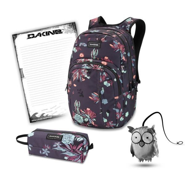 Dakine Campus Premium 28L + Accessory Case + Emma + Block Schulset Perennial