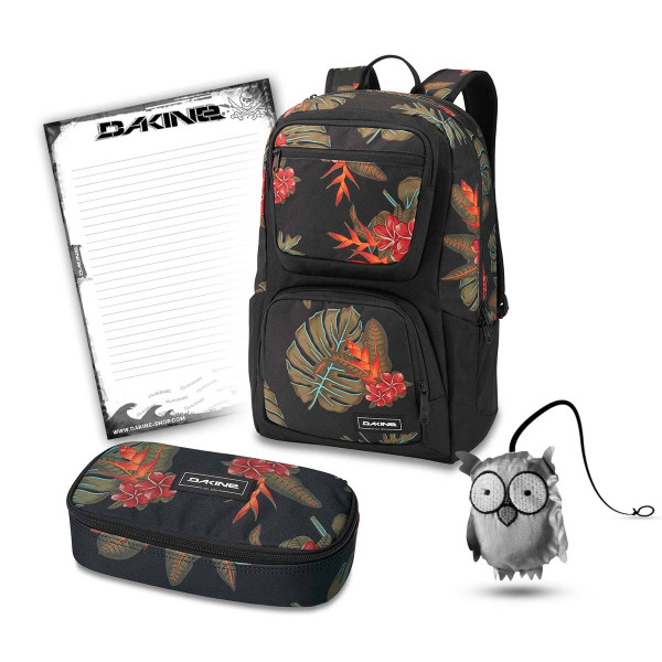 Dakine Jewel 26L + School Case XL + Emma + Block Schulset Jungle Palm