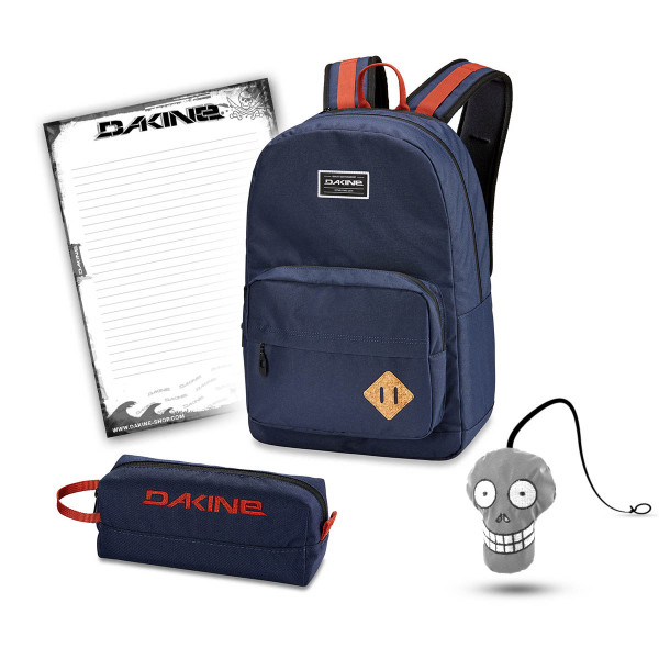 Dakine 365 Pack 30L + Accessory Case + Harry + Block Schulset Dark Navy