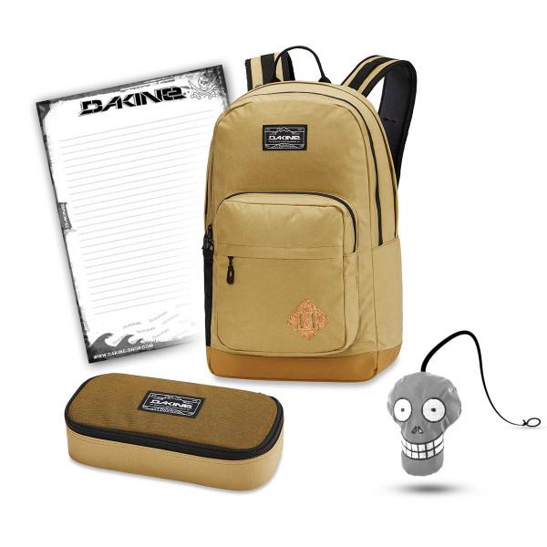 Dakine 365 Pack DLX 27L + School Case XL + Harry Block Schulset Tamarindo