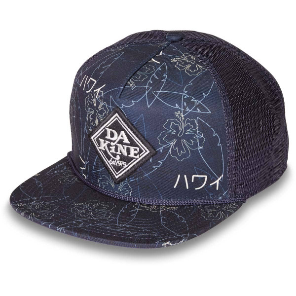 Dakine Classic Diamond Trucker Cap Night Sky Trop