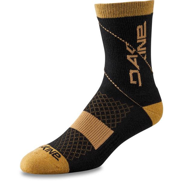 Dakine Berm Crew Sock Bike Socken Black / Tan