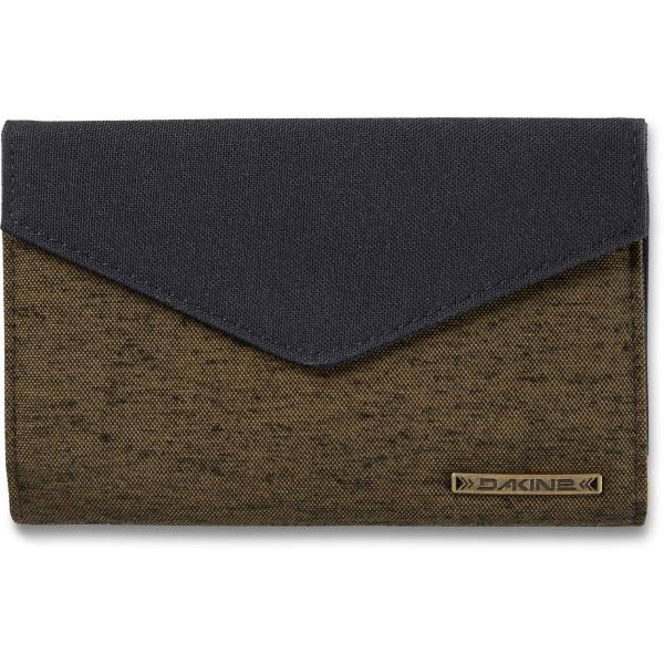 Dakine Clover Tri-Fold Geldbeutel mit iPhone Fach Dark Olive