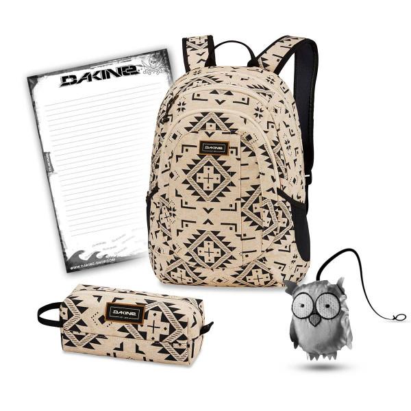 Dakine Garden 20L + Accessory Case + Emma + Block Schulset Silverton