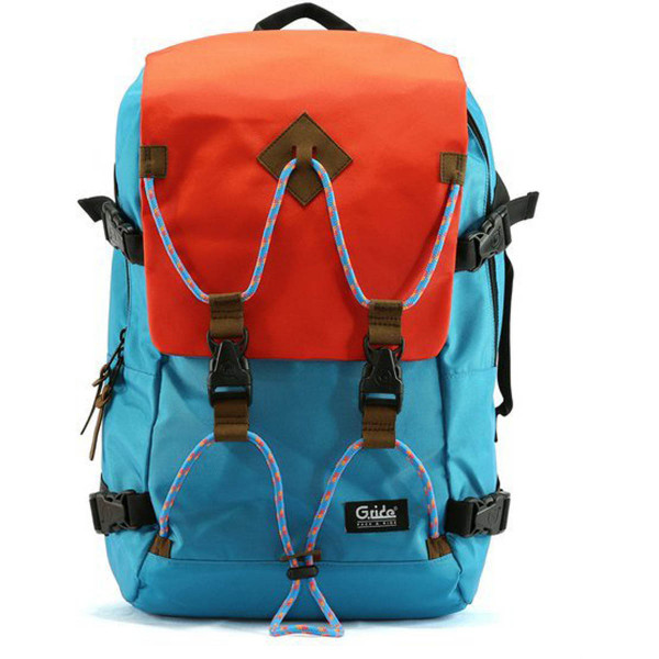 G-Ride Rucksack Albert Orange / Blau