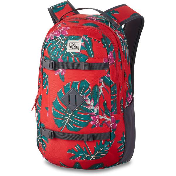 Dakine URBN Mission Pack 18L Rucksack mit iPad/Laptop Fach Red Jungle Palm