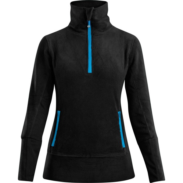 Dakine Womens Caia 1/4 Zip Funktionsshirt Black