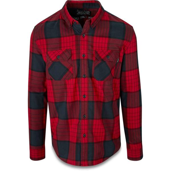 Dakine Reid Tech Flannel Herren Funktionshemd Crimson Red