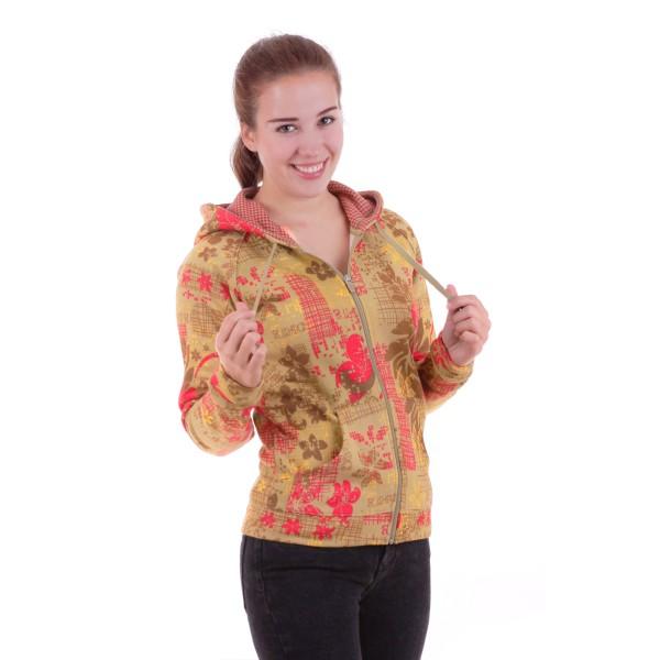 Dakine Womens Floral Print Sweatshirt / Pullover Nude